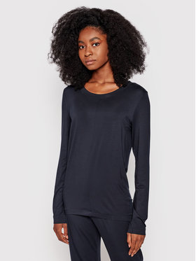 Hanro Hanro Μπλούζα πιτζάμας Yoga 7996 Μαύρο
