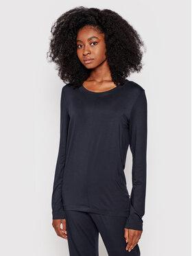 Hanro Hanro Pyjama-T-Shirt Yoga 7996 Schwarz