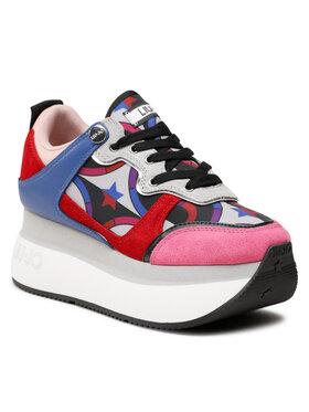 Liu Jo Liu Jo Sneakersy Super Maxi Wonder 2 BF1041 TX203 Kolorowy