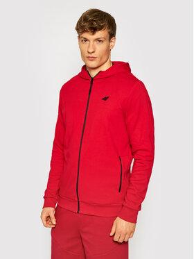 4F 4F Majica dugih rukava H4L21-BLM013 Crvena Regular Fit