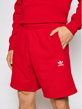 adidas adidas Sportshorts Loungewear Trefoil Essentials GD2556 Rot Regular Fit