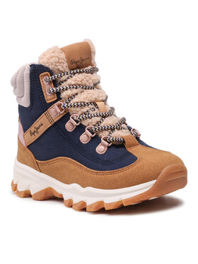 Pepe Jeans Pepe Jeans Outdoorová obuv Peak Trail Girl PGS50173 Tmavomodrá