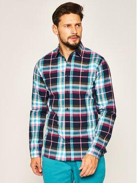 Tommy Jeans Tommy Jeans Marškiniai Essential Check DM0DM07911 Spalvota Regular Fit