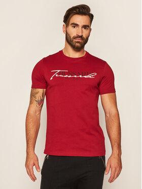Trussardi Jeans Trussardi Jeans T-Shirt 52T00382 Bordó Regular Fit