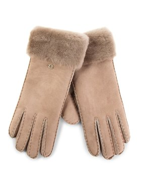 EMU Australia EMU Australia Dámske rukavice Apollo Bay Gloves Hnedá
