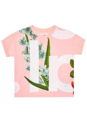 Desigual Desigual Marškinėliai Turin 21SGTK30 Rožinė Regular Fit
