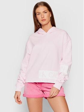 Calvin Klein Jeans Calvin Klein Jeans Majica dugih rukava J20J215262 Ružičasta Regular Fit