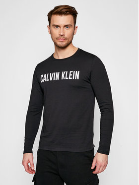 Calvin Klein Performance Calvin Klein Performance Hosszú ujjú 00GMS1K154 Fekete Regular Fit