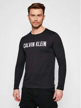 Calvin Klein Performance Calvin Klein Performance Longsleeve 00GMS1K154 Czarny Regular Fit