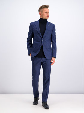 Digel Digel Kostiuminės kelnės 1290182 Tamsiai mėlyna Regular Fit