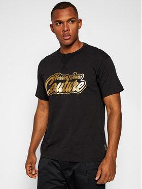 Versace Jeans Couture Versace Jeans Couture Marškinėliai B3GZB7TK Juoda Regular Fit