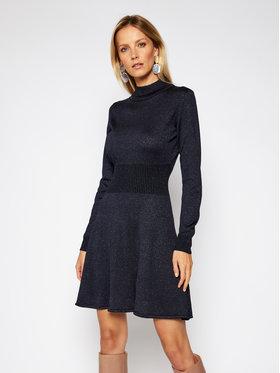 Trussardi Trussardi Trikotažinė suknelė 56D00401 Tamsiai mėlyna Regular Fit
