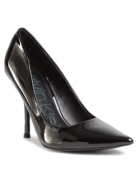 Calvin Klein Calvin Klein Обувки на ток Aliyah B4E7866 Черен