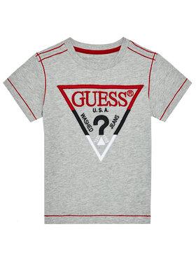 Guess Guess Marškinėliai N0BI05 I3Z11 Pilka Regular Fit