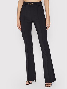 Elisabetta Franchi Elisabetta Franchi Spodnie materiałowe PA-387-16E2-V280 Czarny Slim Fit