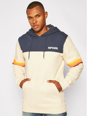 Rip Curl Rip Curl Mikina Mama Stacked CFEXZ4 Sivá Relaxed Fit