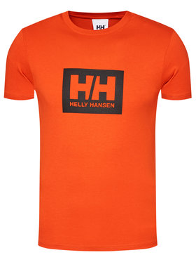 Helly Hansen Helly Hansen T-shirt Box 53285 Arancione Regular Fit