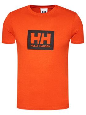 Helly Hansen Helly Hansen T-Shirt Box 53285 Pomarańczowy Regular Fit