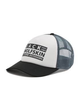 Jack Wolfskin Jack Wolfskin Šiltovka Brand Mesh Cap 1909391-5095 Biela