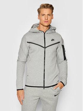Nike Nike Bluză Sportswear Tech CU4489 Gri Standard Fit