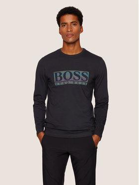 Boss Boss Longsleeve Togn Logo 50436932 Schwarz Regular Fit