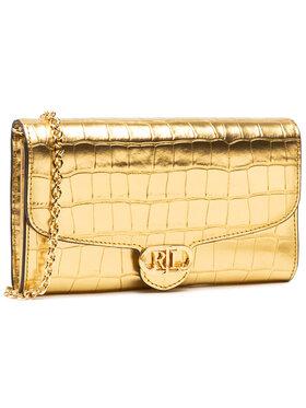 Lauren Ralph Lauren Lauren Ralph Lauren Дамска чанта Adair 431832311002 Златист