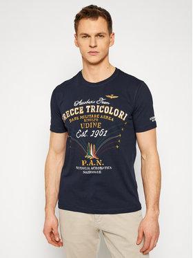 Aeronautica Militare Aeronautica Militare Marškinėliai 211TS1844J509 Tamsiai mėlyna Regular Fit