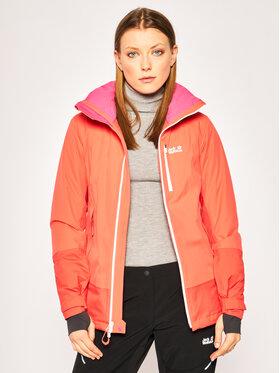 Jack Wolfskin Jack Wolfskin Snowboard kabát Big White 1111621 Narancssárga Regular Fit