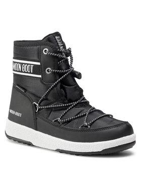 Moon Boot Moon Boot Hótaposó Jr Boy Mid Wp 2 34052500001 Fekete