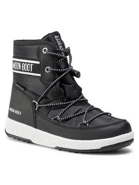 Moon Boot Moon Boot Śniegowce Jr Boy Mid Wp 2 34052500001 Czarny