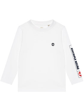 Timberland Timberland Блуза T25R82 D Бял Regular Fit