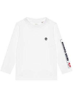 Timberland Timberland Μπλουζάκι T25R82 D Λευκό Regular Fit