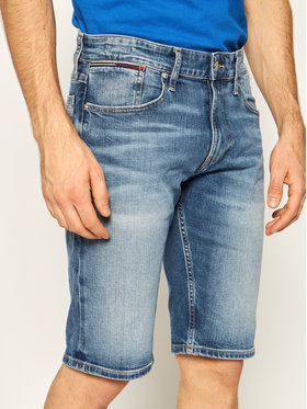 Tommy Jeans Tommy Jeans Džínové šortky Ronne DM0DM07962 Modrá Relaxed Fit