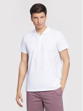 Vistula Vistula Тениска с яка и копчета Mike XA1267 Бял Regular Fit