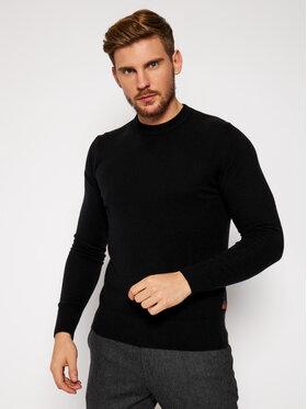 Woolrich Woolrich Sweater Supergeelong Logo CFWOKN0073MR UF0469 Fekete Regular Fit