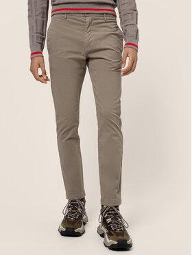 Hugo Hugo Spodnie materiałowe David204d 50437976 Beżowy Slim Fit