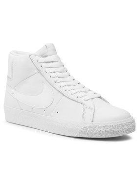 NIKE NIKE Chaussures Sb Zoom Blazer Mid 864349 105 Blanc