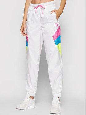 Puma Puma Spodnie dresowe TFS Woven Track 597751 Biały Regular Fit