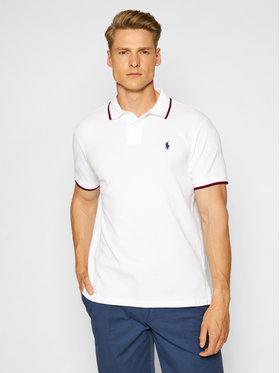 Polo Ralph Lauren Polo Ralph Lauren Тениска с яка и копчета Classics 710842621002 Бял Slim Fit