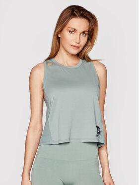 Asics Asics Techniniai marškinėliai Sakura 2012B943 Žalia Slim Fit