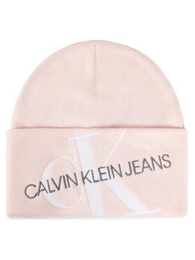 Calvin Klein Jeans Calvin Klein Jeans Dámská čepice Beanie K60K606889 Růžová