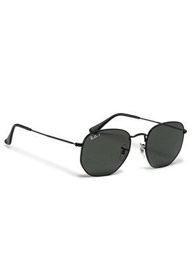 Ray-Ban Ray-Ban Слънчеви очила Hexagonal Flat Lenses 0RB3548N 002/58 Черен