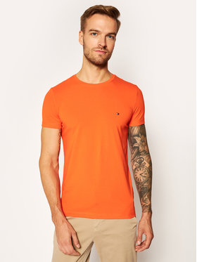 TOMMY HILFIGER TOMMY HILFIGER T-Shirt MW0MW10800 Orange Slim Fit