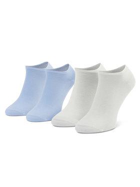 Tommy Hilfiger Tommy Hilfiger Sada 2 párů dámských nízkých ponožek 343024001 Modrá