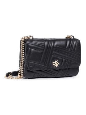 DKNY DKNY Handtasche Alice Md Flap Should R023BI40 Schwarz