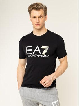 EA7 Emporio Armani EA7 Emporio Armani T-shirt 3HPT05 PJ03Z 1200 Nero Regular Fit