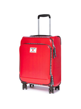 LOVE MOSCHINO LOVE MOSCHINO Közepes szövetborítású bőrönd JC5100PP1CLC150A Piros