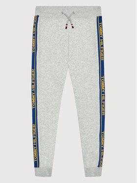 Tommy Hilfiger Tommy Hilfiger Spodnie dresowe Varsity Rib Insert Sweatpants KB0KB06387 M Szary Regular Fit