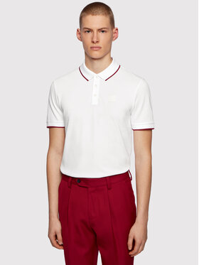 Boss Boss Polo Parlay 101 50445486 Biały Regular Fit