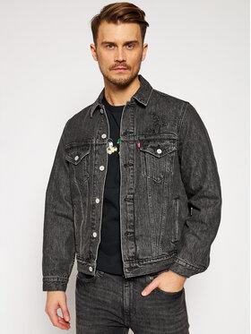 Levi's® Levi's® Kurtka jeansowa DISNEY Mickey & Friends A0880-0000 Czarny Regular Fit